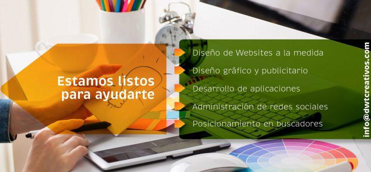 DWTCreativos.com te ayuda con Marketing Digital.